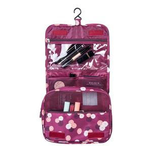 الرجل المرأة حقيبة مستحضرات التجميل معلقة حقيبة السفر المنظم غسل الحقيبة منتجات التجميل أدوات الزينة تخزين الإمدادات