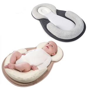 Baby Pillow Correct Sleeping Position Newborns Sleep Positioning Pad Cotton Pillows Mom Care Infant Protection Cushion Headrest