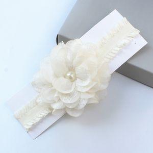 Accesorios Cabeza Piezas niña de las flores elegantes del Rhinestone de la perla de la venda de Estudio para niños pelo Flores para la boda del partido de las muchachas
