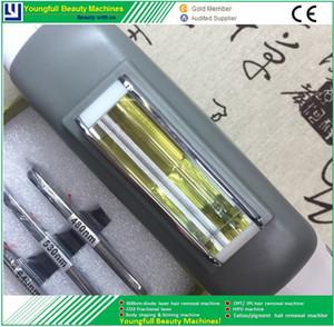 Opt ipl handpiece poignée laser épilation machine e lumière pièces de rechange longueur d'onde filtre sonde saphir
