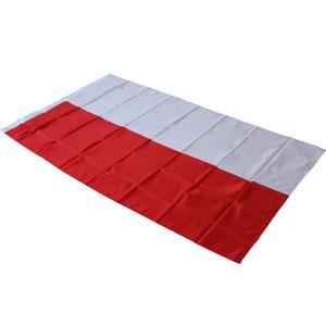 90x150 cm Polonya Bayrağı-Asılı Lehçe Ulusal Bayraklar Açık Ofis / Etkinlik / Parade / Festival / Ev Yard Dekorasyon Banner