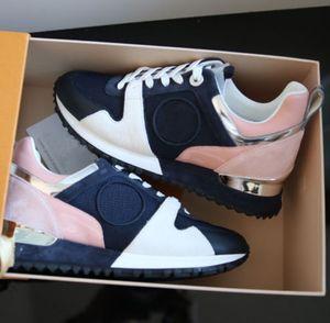 2018 Марка кожа женщины дизайнер кроссовки мужчины бегуны обувь Мода досуг обувь для вождения все черные скейтборд обувь