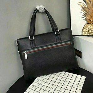 2018 spedizione gratuita nuovo arrivo moda uomo borsa casual giorno valigetta nera frizione commerciale per gli uomini busta borsa per uomo casual borsa