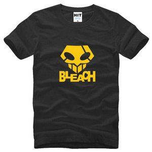 Décès Bleach Le Masque fantôme Étape Danse T Chemises Hommes Nouveau Manches Courtes O-Neck Coton T-shirt Anime Hip Hop T-shirt Homme