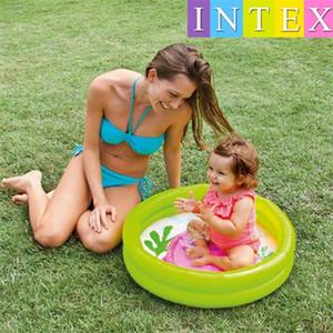 Intex My Baby Pool Outdoor Niños Bañera Bebes Piscinas Bañeras Cubo Inflable Círculo Colurful Lovely 12 9jr gg