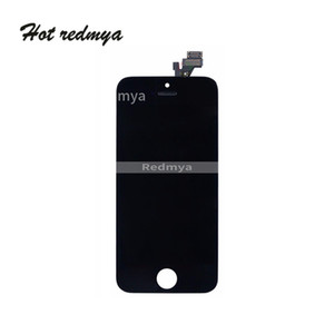 High Quality For iPhone 5 5G 5S 5C 5SE LCD Display Touch Complete Digitizer Screen with Frame Replacement Parts LCD Touch Panel Assembly