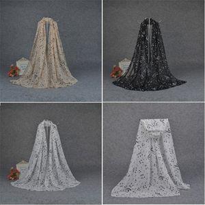 Mulheres lenços chiffon notas felizes da música lenços de alta qualidade impressa lenço 3 cores Scarf Shawl garoto Xaile T5C038