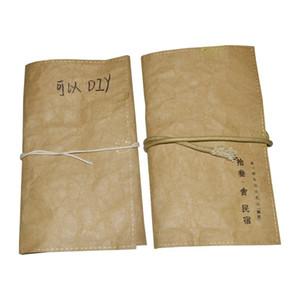 laváveis kraft kits saco de papel de higiene pessoal lavar saco para homestay hotel fornece sacos de artesanato laváveis ordem OEM