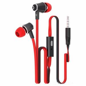Nuevo Langsdom JM21 Auriculares intrauditivos con micrófono Auriculares coloridos Auriculares de alta fidelidad Auriculares bajos para iPhone Samsung LG Teléfono con paquete al por menor