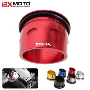 Аксессуары для мотоциклов ЧПУ Алюминиевая крышка выпускного наконечника для Yamaha T-max 530 T MAX TMAX 530 2012-2015