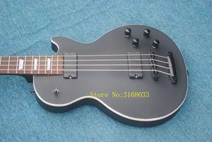 4 Strings Electric Bass 매트 블랙 커스텀베이스 기타 신착 품 HOT
