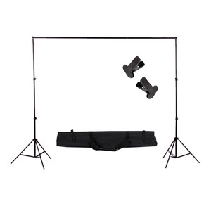 Nueva marca 2 * 2 m / 6.5 pies soporte de luz trípode Photo Studio accesorios para la caja suave Photo Video Lighting Flashgun lámparas