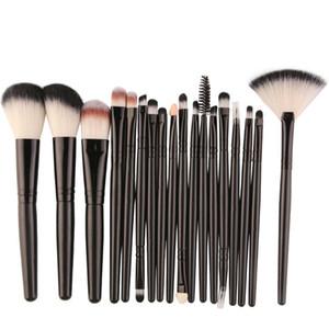 Soft Brush Fan Brush Set Blush Powder Foundation Brush العلامة التجارية الجديدة أدوات المكياج فرشاة كونتور BR034