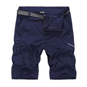 2017 Aking Ace Shorts de carga impermeable Pantalones cortos de gran tamaño M -4xl Material delgado para el verano pantalones cortos Masculino corto, Za207