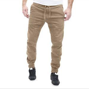 Men's Cotton Pants Joggers Sportwear Baggy long pants Casual Harem Trousers Sweatpants