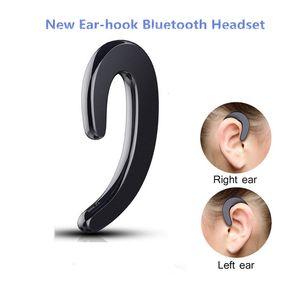 S103 Ушной крючок Bluetooth наушники мини невидимый костной проводимости наушники Беспроводные спортивные бизнес-гарнитура с микрофоном для iphone samsung