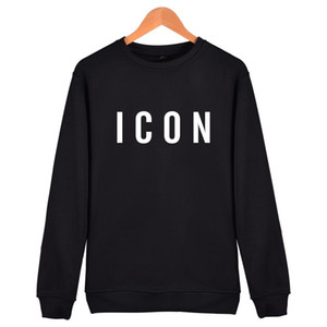2017 heißer Verkauf Mode Marke Icon Hoodies Sweatshirt hoodie Lustige Casual hip hop hoodies männer Drucken Muster capless männer Kleidung S18101703