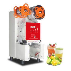 Satılık BEIJAMEI Otomatik Bubble Tea Yoğurt Plastik Bardak Kapama Makinesi Ticari Yoğurt Kupası Sealer Makinesi Sızdırmazlık