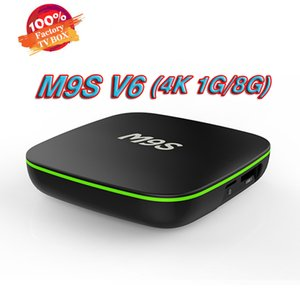Android 7.1 TV Box Nuovo MXQ pro M9S V6 4K Quad Core 8G / 1G Amlogic RK3229 Smart TV Box suport WIFI lettori multimediali 3D BET X96 MINI