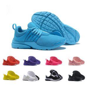 2018 Presto air 5 남성용 남성 운동화 Prestos Ultra BR QS 밝은 색 노란색 핑크색 야외 패션 운동가 Womens Sneakers