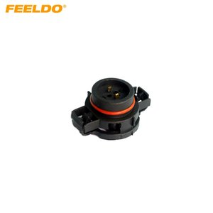FEELDO 10 UNIDS Coche H16 / 5202/2504 / PSX24W Bulbos Conector Macho Para Luces Niebla Holder Plug # 1865