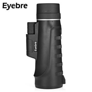 Eyebre 10X42 Okular Weitwinkel High-Power Portable Monocular Teleskop Weitwinkel-Zoom-Objektiv Jagd-Bereich für Birdwatching Wandern Camping