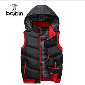 Plus Size 5XL Men's New Winter Vest Thermal Sleeveless Jackets Men Casual Slim Fit Autumn Vests Men Waistcoat