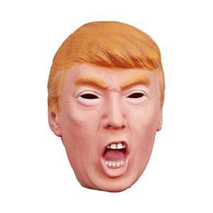 2018 New Donald Trump Máscara Billionaire Traje Presidencial Máscara de Halloween Celebridade Cosplay Máscara de Látex Masquerade Carnaval de Natal