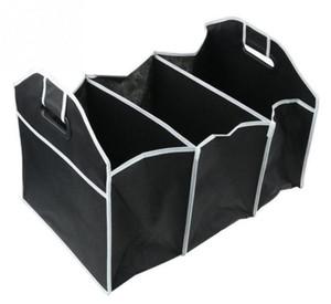 طوي النسيج غير المنسوجة سيارة منظم سيارة جذع لعبة الغذاء الحاويات صندوق حقيبة تخزين جذع مربع حقيبة التخزين المحمولة حالة SN1092