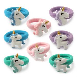 Avrupa Ve Amerika Hairbands Yeni Desen Çocuk Kafa Süsler Reçine Unicorn Daire Diy Güzel Saç Bandı Moda 0 91 wj dd