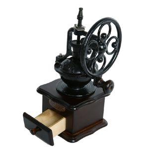 Qihang_top yüksek hız salıncak tekerlek eski kahve değirmeni ev manuel kahve değirmeni İtalyan el kahve taşlama makinesi