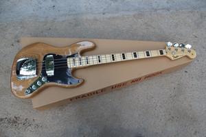 Nueva Llegada de Alta Calidad F Vintage '75 Marcus Miller Signature Jazz Bass 4 Cuerdas Natural Color Clase Bass Guitar Envío Gratis