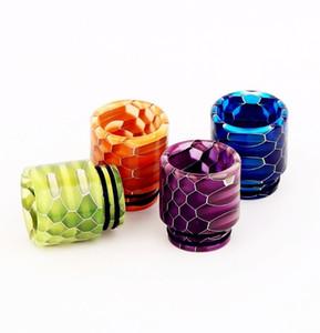 Sneak Эпоксидная смола капельного наконечника Цветные наконечники с широким отверстием для капель 810 Мундштук для Smok TFV8 TFV8 Big Baby TFV12 Бак с розничной упаковке