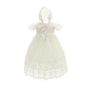 Yeni Moda Bebek Elbise Düğün Için 2018 Bebek Kızlar Için Sevimli Prenses Elbise Doğum Günü Partisi Yenidoğan Kız Giyim 0-24 M K1