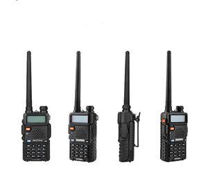 BaoFeng UV-5R UV5R Walkie Talkie Dual Band 136-174Mhz 400-520Mhz Two Way Radio Transceiver BHF with 1800mAH Battery free earphone(BF-UV5R)