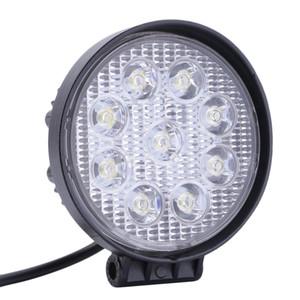 Envío por DHL 27W Coche LED Offroad Work Light Bar para Jeep 4x4 4WD AWD SUV ATV Carro de conducción Lámpara de la motocicleta Luz de niebla
