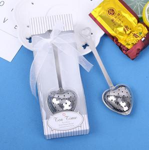 Kalp Şeklinde Çay Demlik Paslanmaz Çelik Çay Araçları Çay Yaprağı Filtre Spice Süzgeç Teaware Ev Ofis Mutfak Alet
