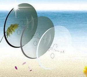 RX-Lens photochromes Gleitsichtglas 1.56 HMC + EMI 12mm14mm Korridor Muti-Focus Muti-Focus Korrekturbrillen für optische Sonnenbrillen