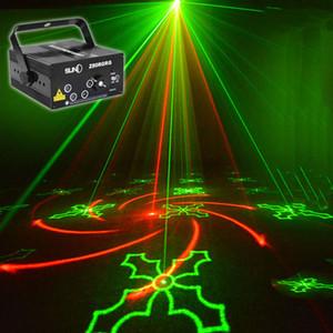 80 Patterns Projecteur DJ Laser Stage Light RG rouge vert Bleu LED Magic Effect Disco ball avec contrôleur tête mobile Party Lamp 110 V-240 V