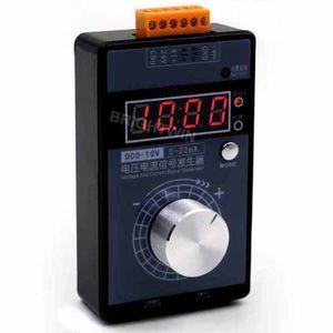 Высокоточный регулируемый 0-5В 0-10В 4-20мА Генератор сигналов Портативный аналоговый источник напряжения Генератор тока Симулятор мА мВ Калибратор