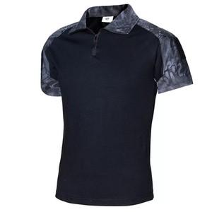 Homens verão marca clothing 2017 novos homens tático t-shirt curto militar do exército camuflagem camisetas top de algodão camisetas