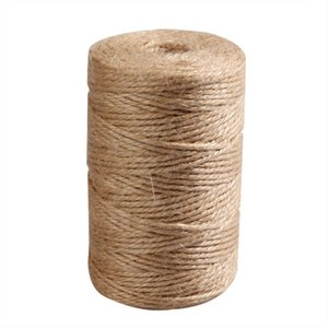 New 100 M Jute String Natural Rustic Country Craft Craft Cord DIY / Decorative Accessorio fatto a mano Jute Twine