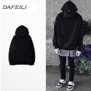 2018 DAFEILI Оптовая tech флис толстовка пуловер уличная хип-хоп стиль