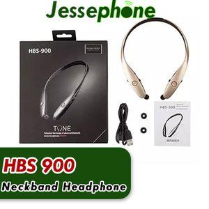 HBS 900 Handy Kopfhörer HBS900 CSR Wireless Sport Nackenbügel Kopfhörer In-Ear Headsets Bluetooth Stereo Kopfhörer für LG iPhone X Samsung