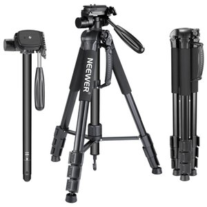 venta al por mayor Portable 70 pulgadas / 177 cm Monopod de trípode de cámara de aleación de aluminio con 3-Way giratoria Pan Head que lleva el bolso para Canon / Nikon