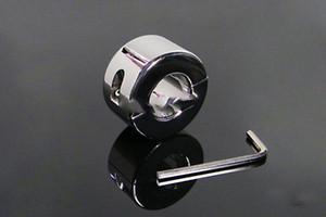 970g العفة الجنس عبودية خواتم القضيب المعلقات الفولاذ المقاوم للكيس الصفن الخصية Oschea نقالة الصلب الديك الكرة جهاز BDSM الوزن الثقيل لعبة A0 Fhgj