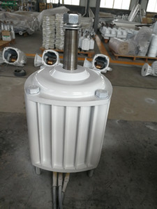 1KW / 1000W 400 tours / minute 24v / 48v / 96v alternance horizontale alternatif d'hydro-éolienne / turbine générateur de moteur à aimant permanent
