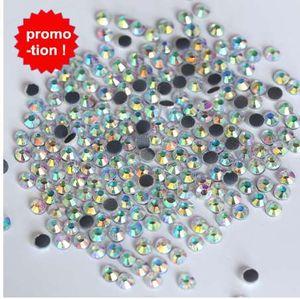 Супер большой продвижение 1440 шт. ss16 DMC Кристалл AB железо на исправление горный хрусталь ясно Ab Hotfix камни для свадебное платье обувь Y3842