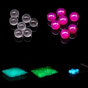 Мини 6 мм 8 мм терпуг жемчуг светящиеся светящиеся цветные кварцевые жемчуг круглый шар для 10 мм 14 мм 18 мм кварцевые Banger ногти стеклянные бонги dab rig