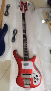 wholesale نيو ريك. 4 string 4003 bass bass guitar in metal Red 170222